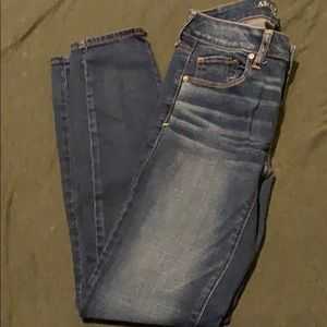 Super stretch skinny jeans size 4R